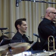 Curt w Bruce Band