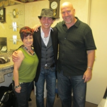 With Michael Grimm and Eliane